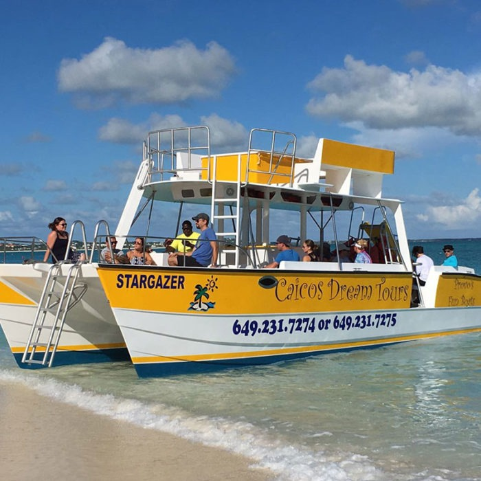 Turks and Caicos island tour getting started