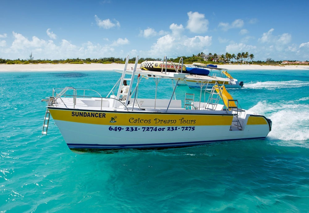 Turks and Caicos Island Touring Boat
