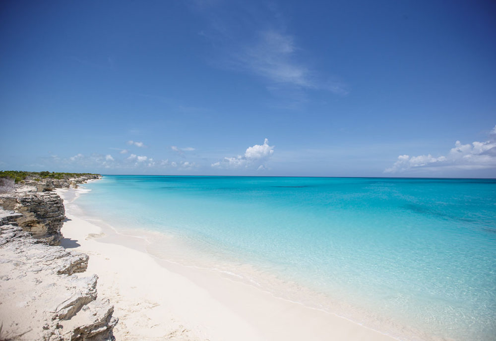 Ocean view in Turks and Caicos Islands